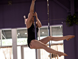 Marcy Kerr - Pole Dancing at Chrome Fitness