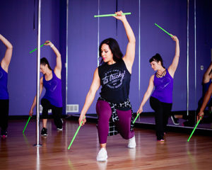 fitness classes pound